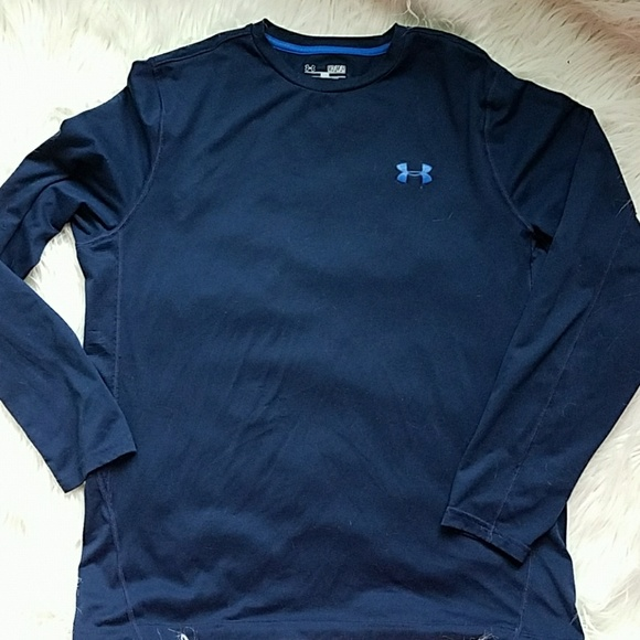 Men/'s Under Armour Heat Gear Loose Fit Long Sleeve Shirt
